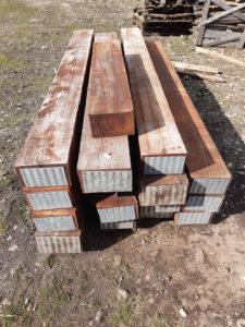 podkłady drewniane